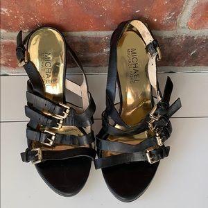 Michael Kors Wedge Sandals US 4